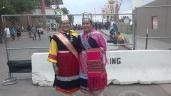 Miss Indian NM Janessa Bowekaty (Zuni), Miss Indian NMHU Jerika Lementino (Zuni)